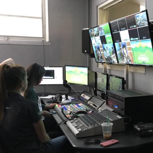Inside the CPTV studio