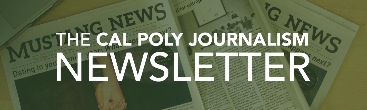 Journalism Newsletter Banner