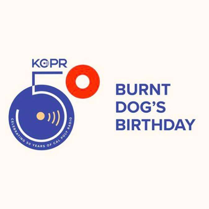 KCPR 50th anniversary logo