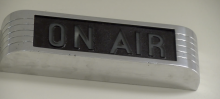 on-air sign