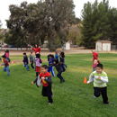 Photo of children playing in the park