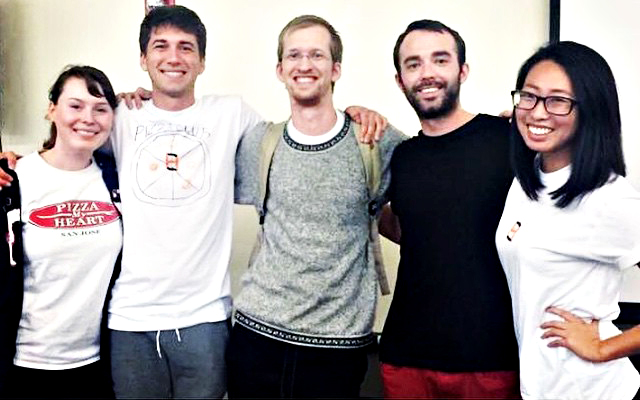 Students win Hackathon award