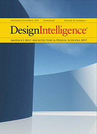 Image of cover of DesignIntelligence 2015 survey