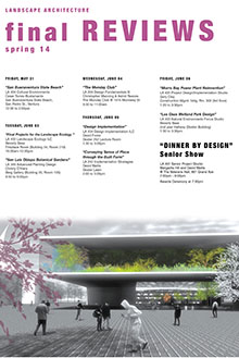 Spring 2014 final reviews poster