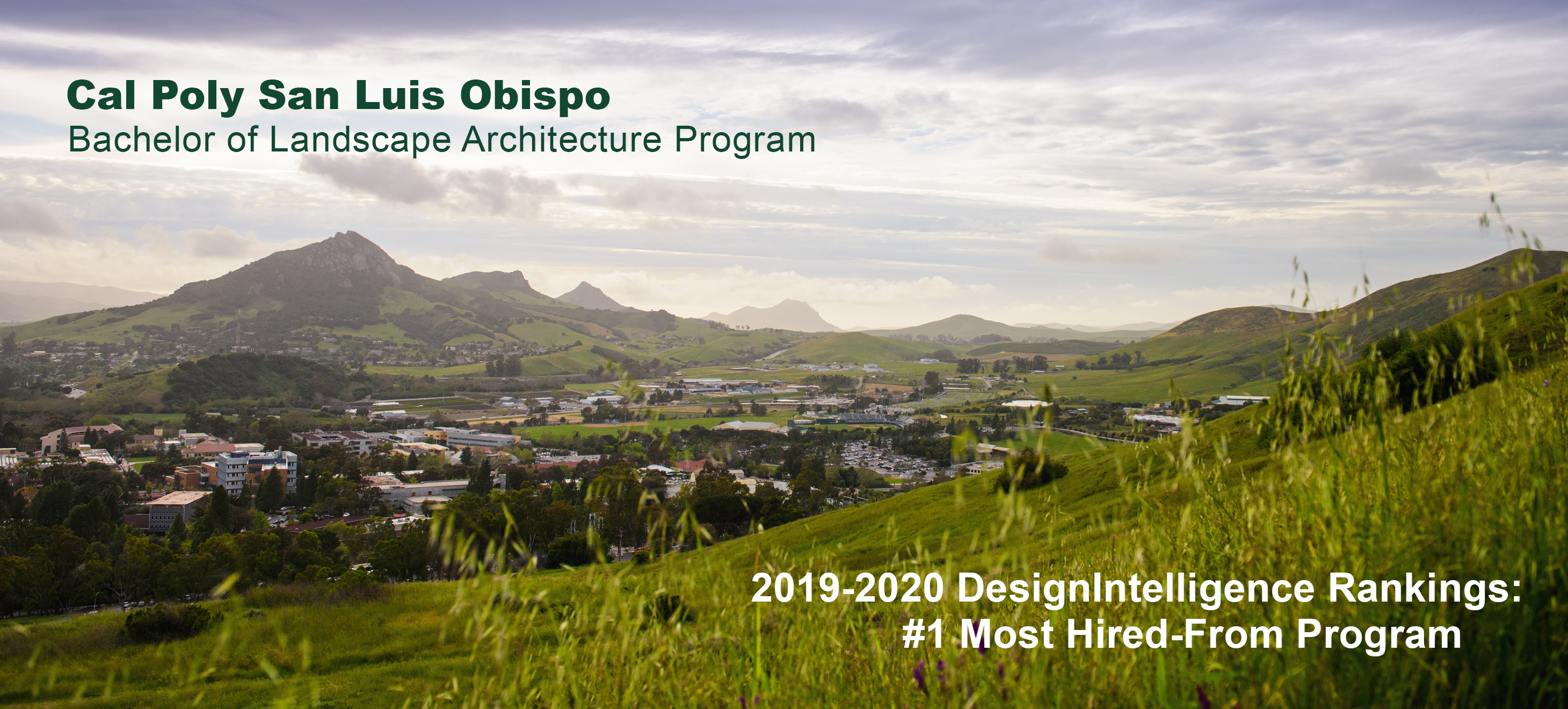 Landscape Architecture At Cal Poly Landscape Architecture Cal Poly San Luis Obispo