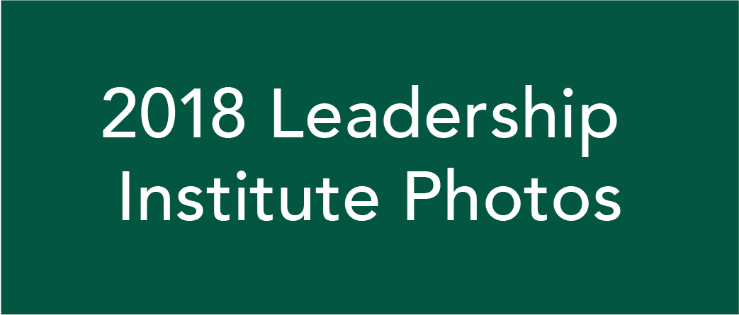 2018 Leadership Institute Photos
