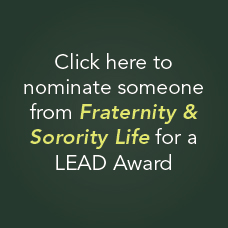 Nominate someone from fraternity & Sorority Life