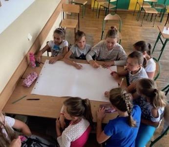 Classroom in Poland