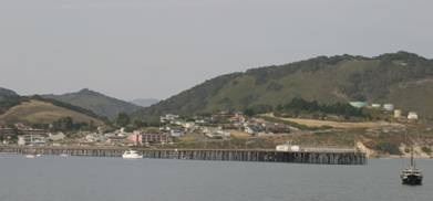 View of Cal Poly pier
