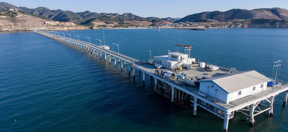 Cal Poly research pier.