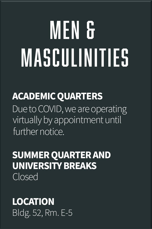 Men & Masculinities