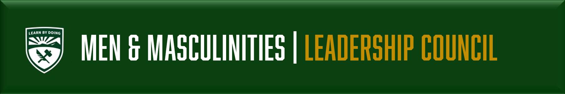 Men & Masculinities - Leadership Council