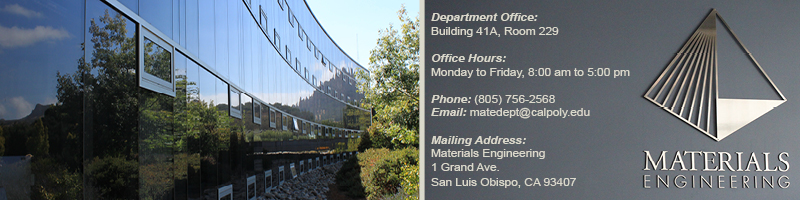 picture of bldg 41 A and MATE department contact information