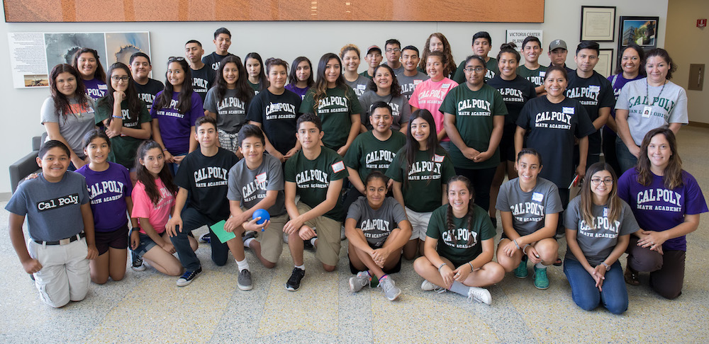 40 Hispanic students from local high schools