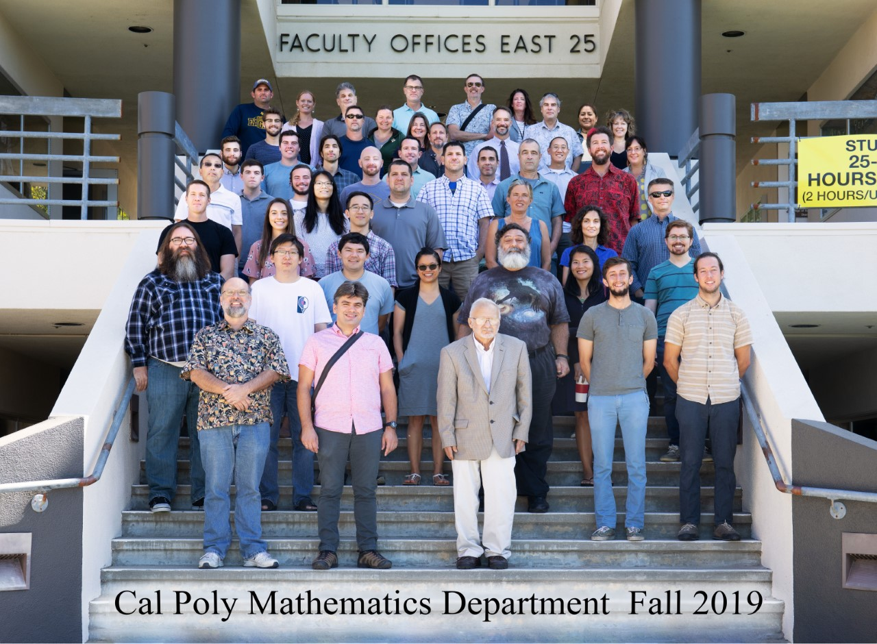 Photo of current faculty