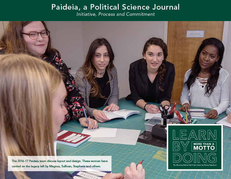 Paideia a Political Science Journal thumbnail
