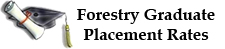 forestry grad placement rates