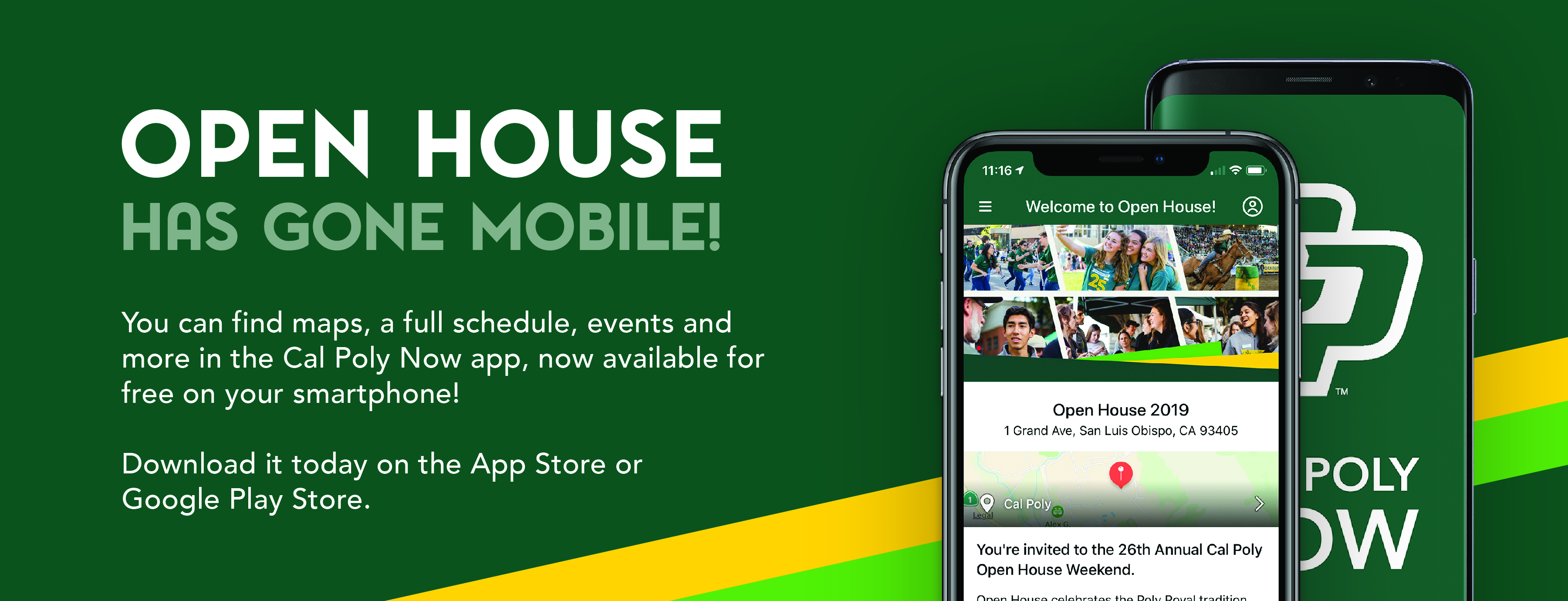 Download the Open House Guide on your smartphone!