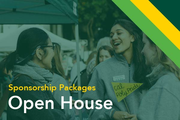 Open House Sponsorship Packages