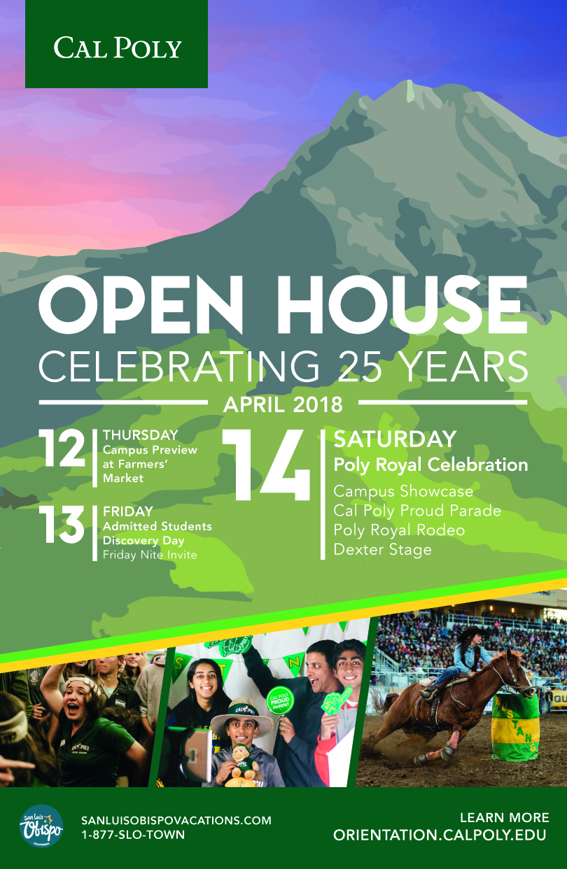 Open House 2018 Poster