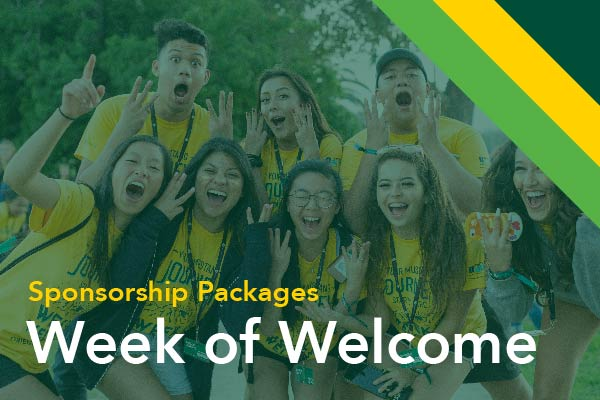 Week of Welcome Sponsorship Packages