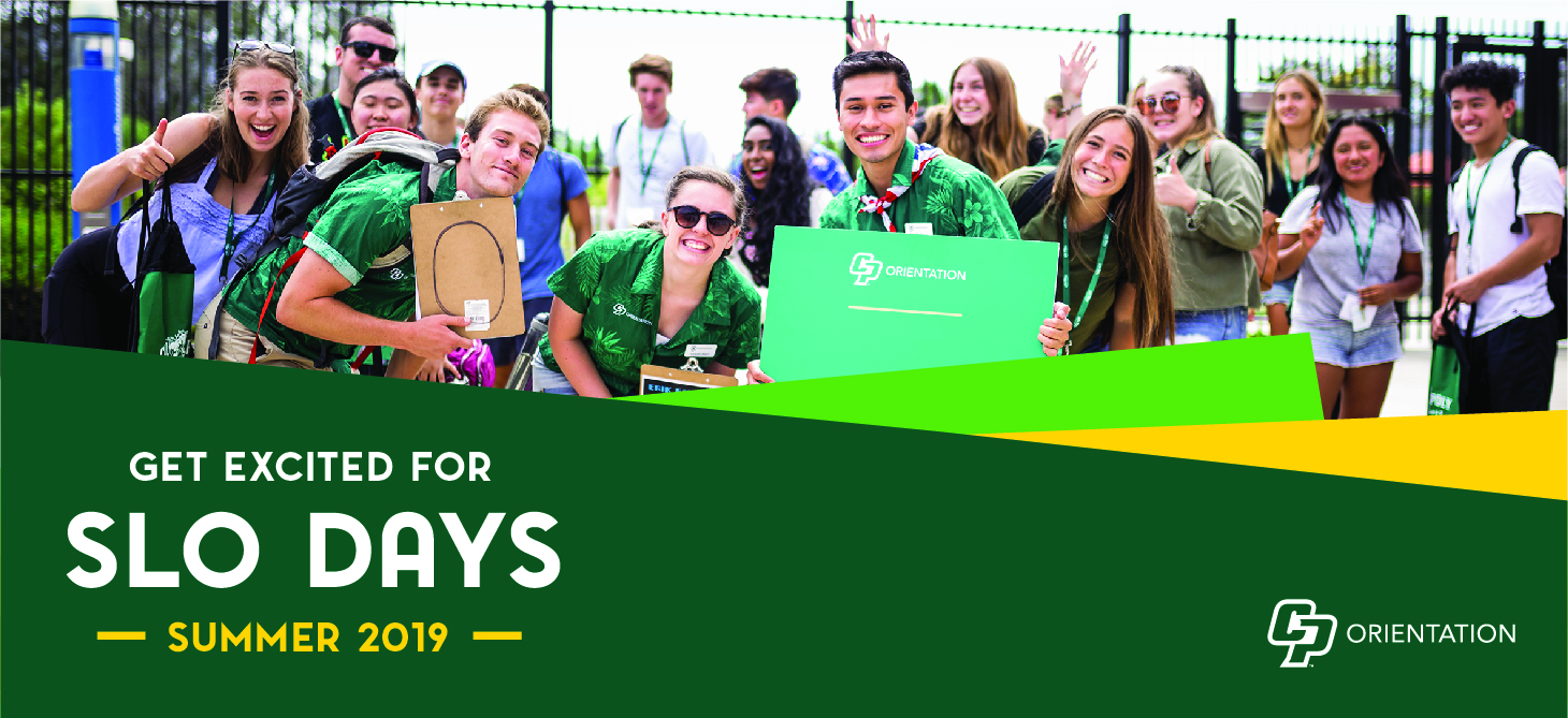 Get excited for SLO Days 2019! We'll see you in summer!