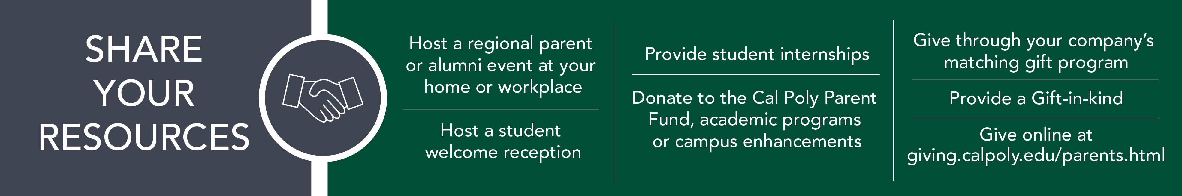 Stay Involved Parent And Family Programs Cal Poly San Luis Obispo Electrical Engineering 4 Year Plan Uc Davis Learn About The Many Ways You Can Give Back To Below Complete Our Volunteer Form Get Started Today