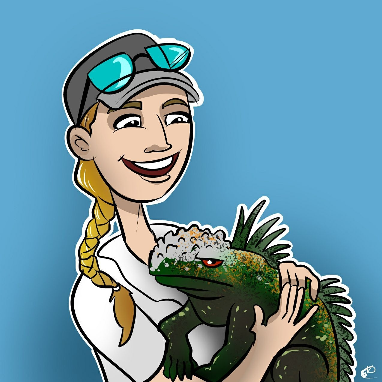 Cartoon of Dr. Emily Taylor