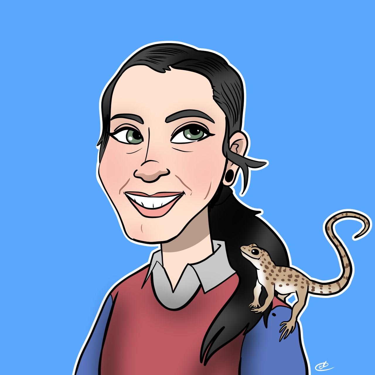 Cartoon of Kat Ivey