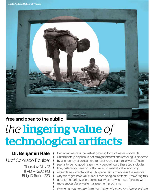 The Lingering Value of Technological Artifacts flyer