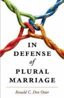 """In Defense of Plural Marriage"" Book cover"