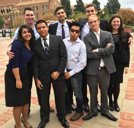 Cal Poly Mock Trial team
