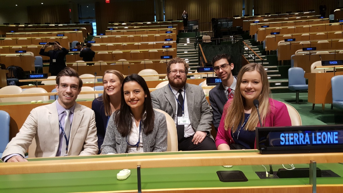 Cal Poly Model UN in New York