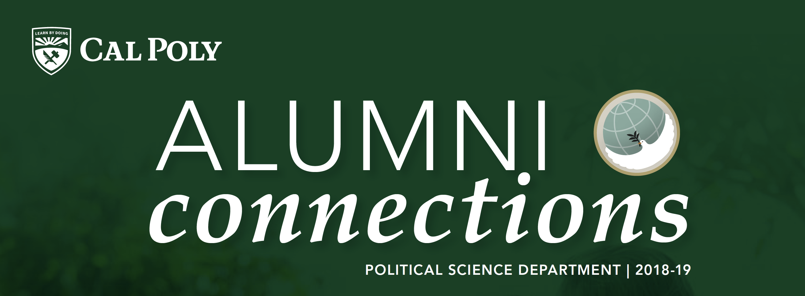 Political Science Newsletter Banner