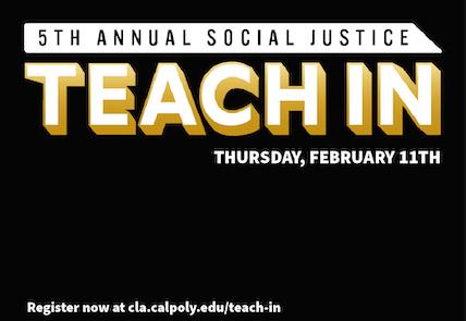 TEACH IN - Thursday, Feb. 11th