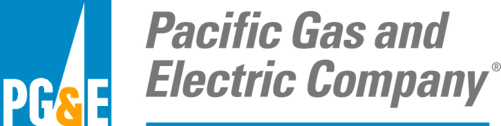 PG&E, or Pacific Gas and Electric Company, Logo
