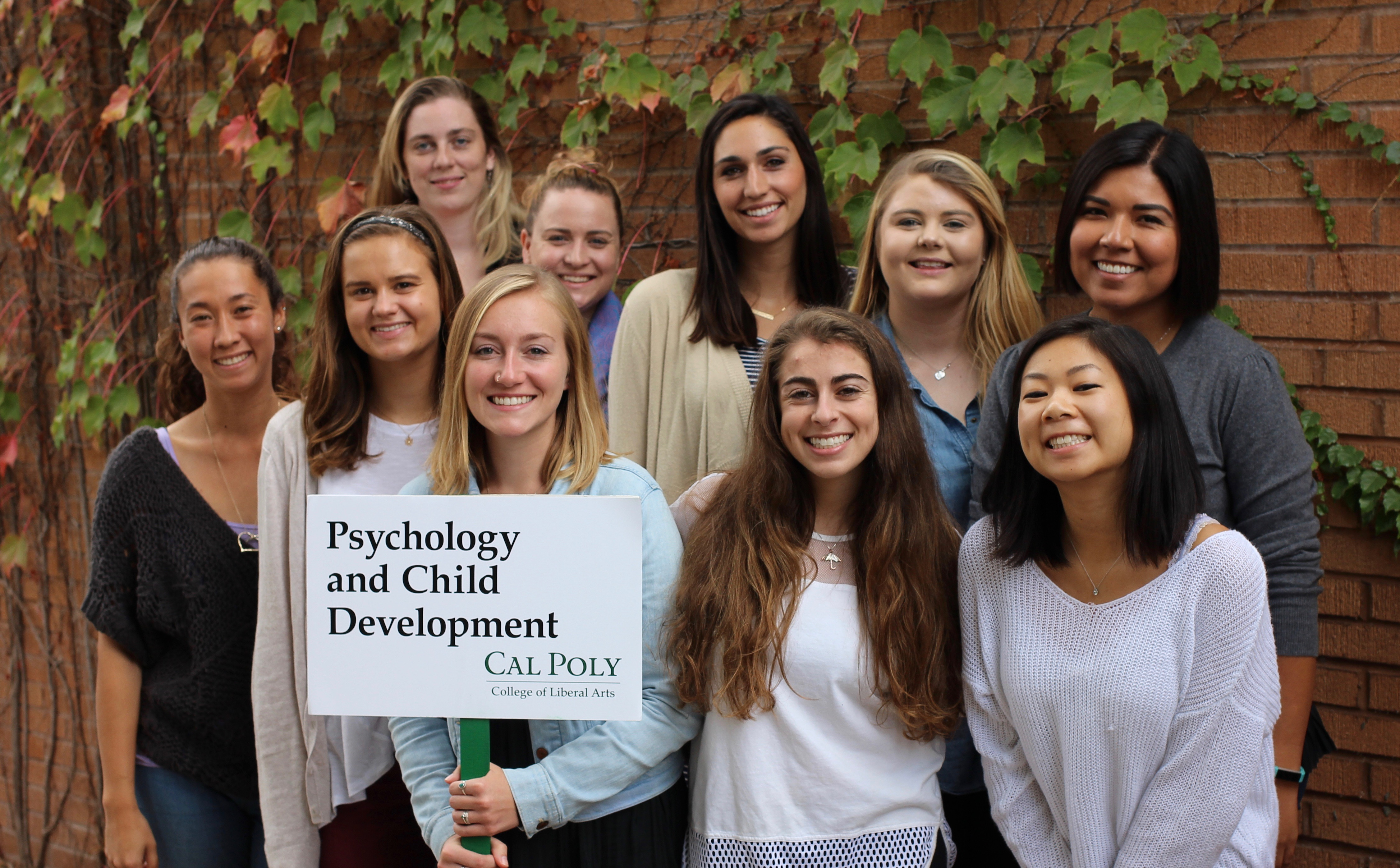 Cal Poly Psychology & Child Development Student Advisory Committee 2015-16