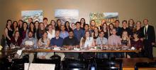 Banquet group photo