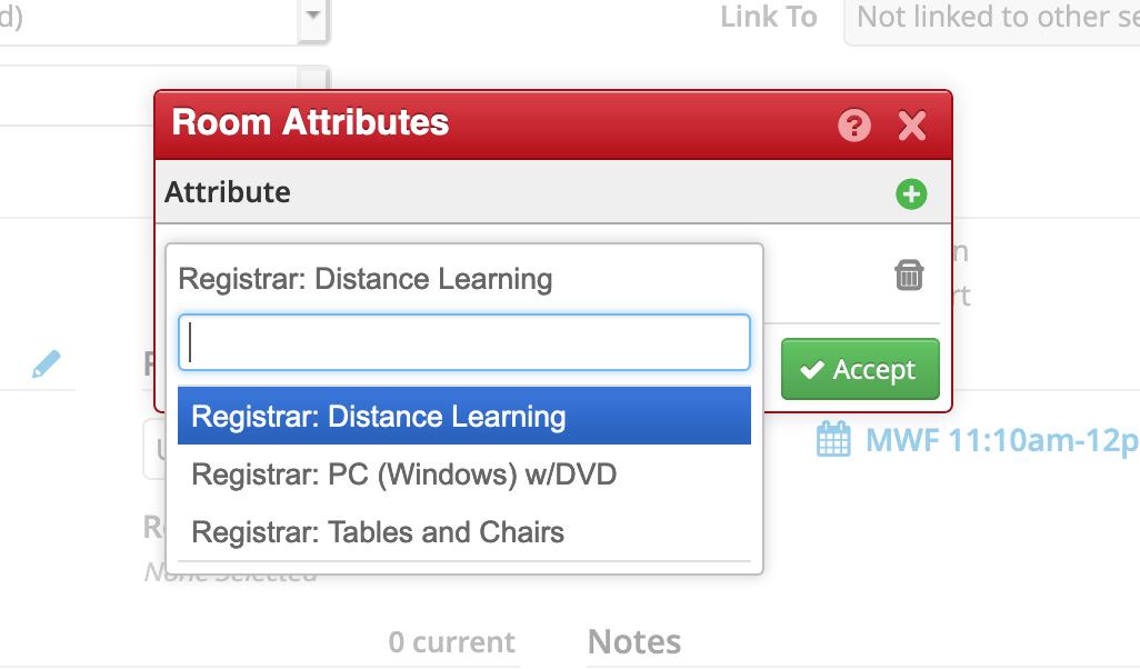 Select Attribute