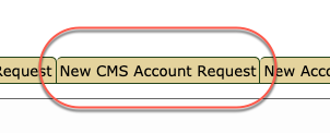 If you are a faculty/staff member hoping to gain security access to Schedule Builder, you must submit a New CMS Account Request.