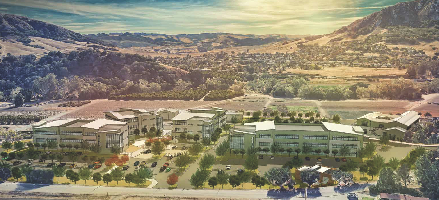 Illustration of proposed tech park expansion