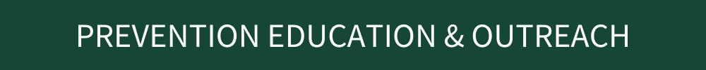 Prevention Education & Outreach