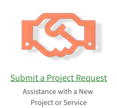 Link to submit a new project or service request