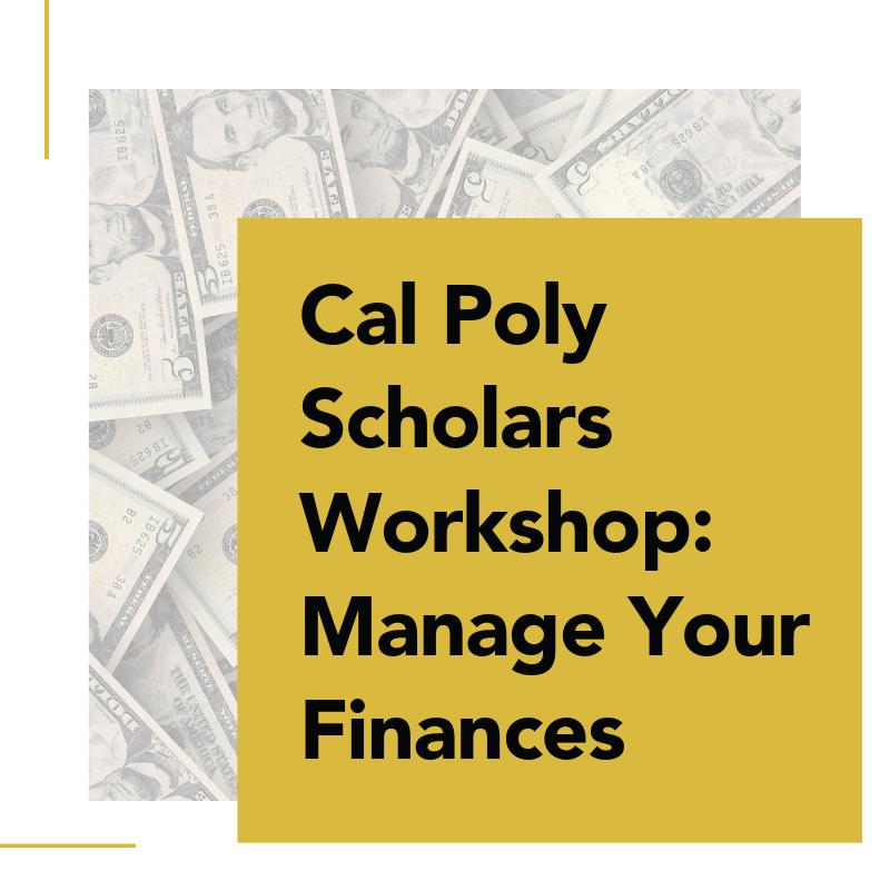 Manage Your Finances Workshop