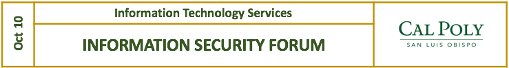 Information Security Forum May 30