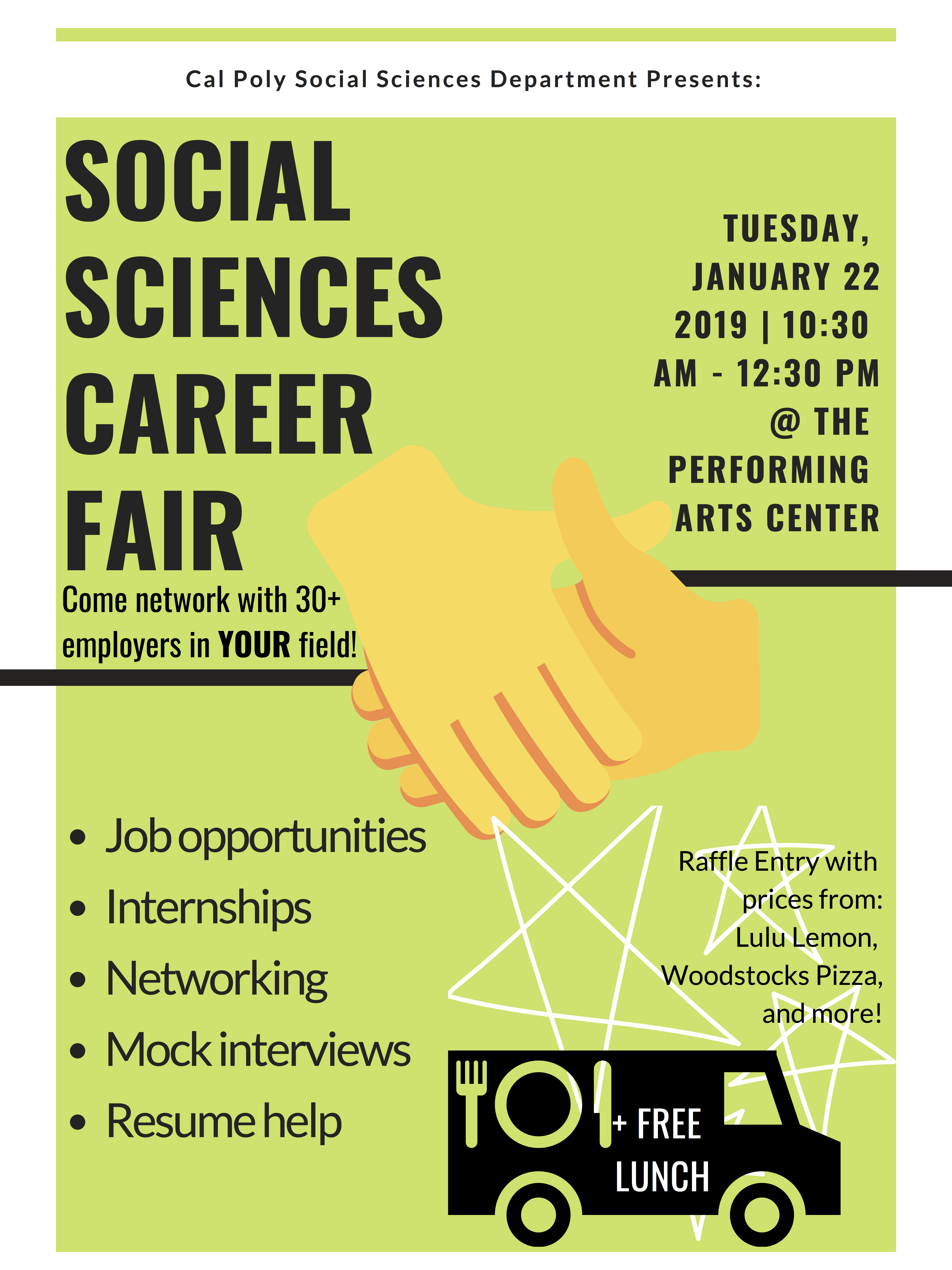SOCS Career Exploration Day Flyer