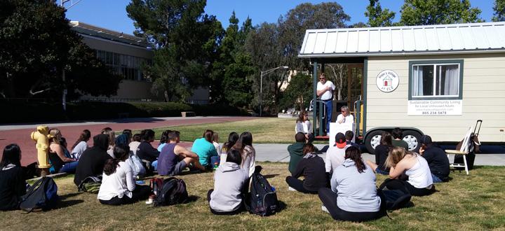 Hope's Village visits Cal Poly