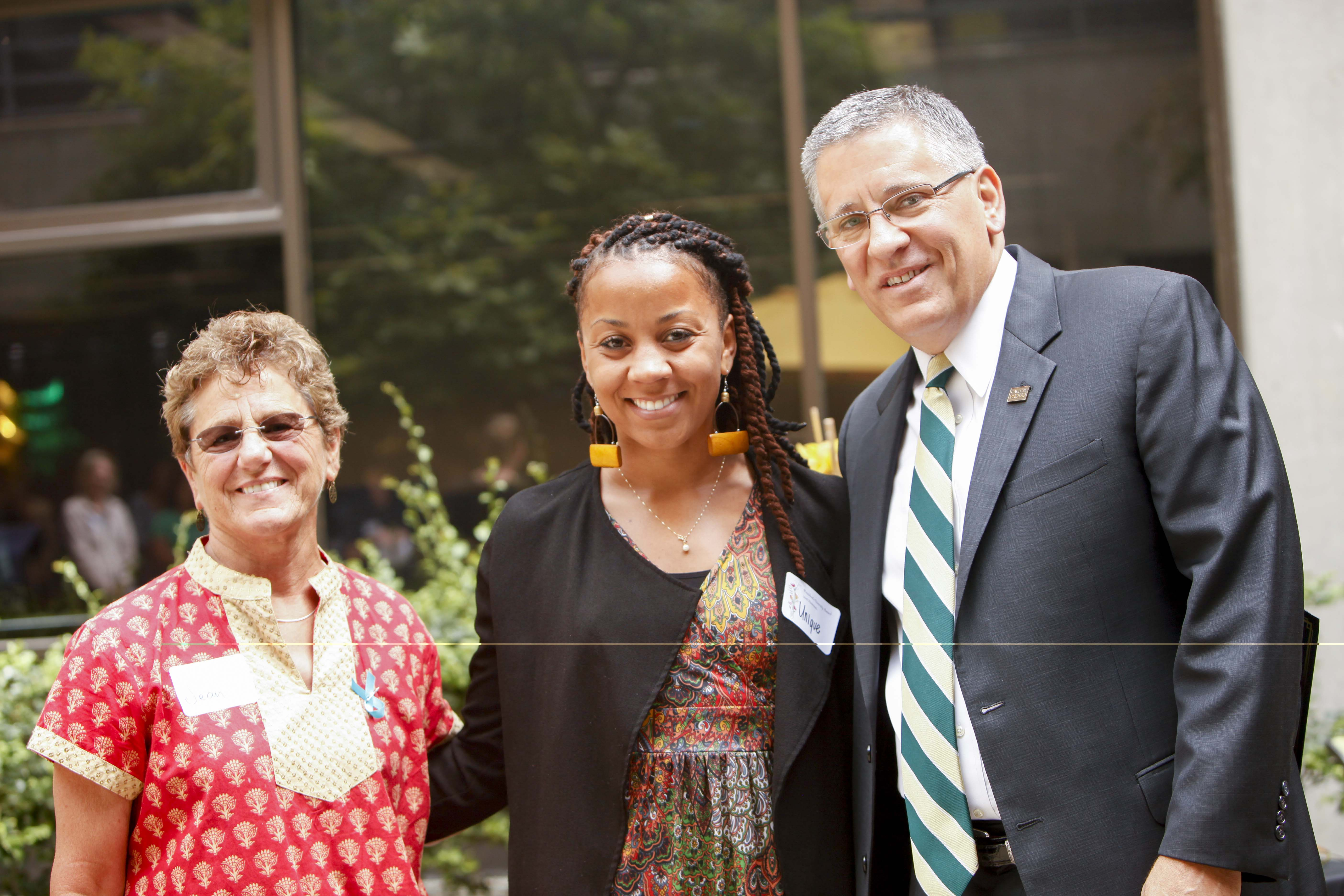 Unique Shaw-Smith, Cal Poly President's Diversity Award Recipient