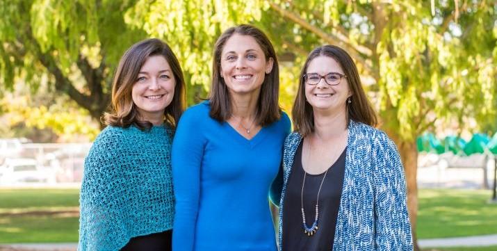 Tanya Flushman, Megan Guise, and Briana Ronan