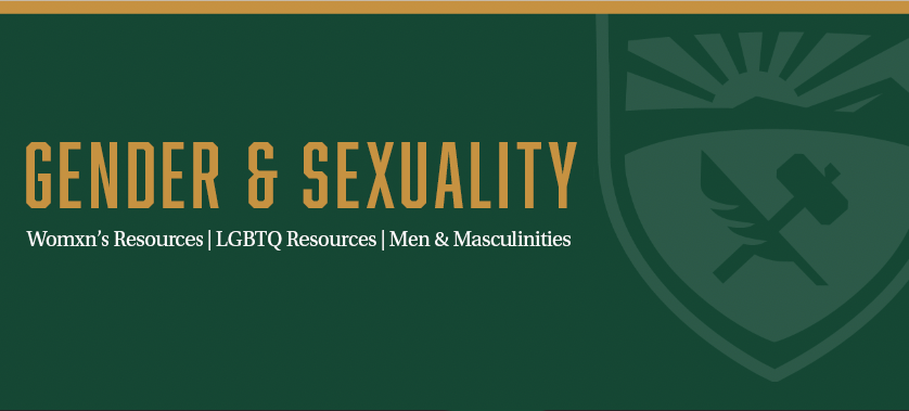 Gender and Sexuality Banner